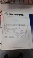 Image MITUTOYO F604 Coordinate Measuring Machine with Air Dryer and Accessories 1460393