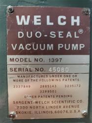 Image WELCH DUO-SEAL 1397 Vacuum Pump 1460578