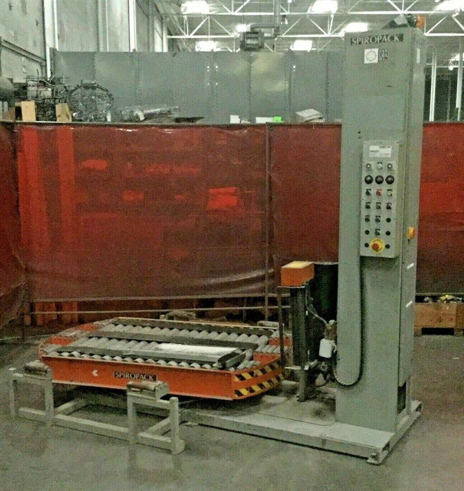 Image SPIROPACK Automated Pallet Shrink Wrap Machine 1460735