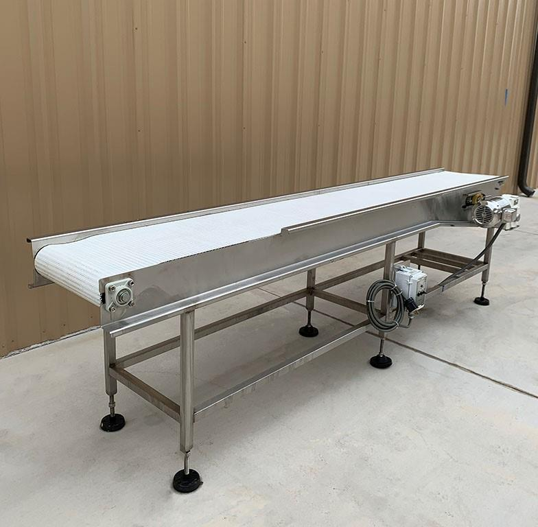 Image 18in X 11ft Long Food Conveyor with Speed Controller 1460852
