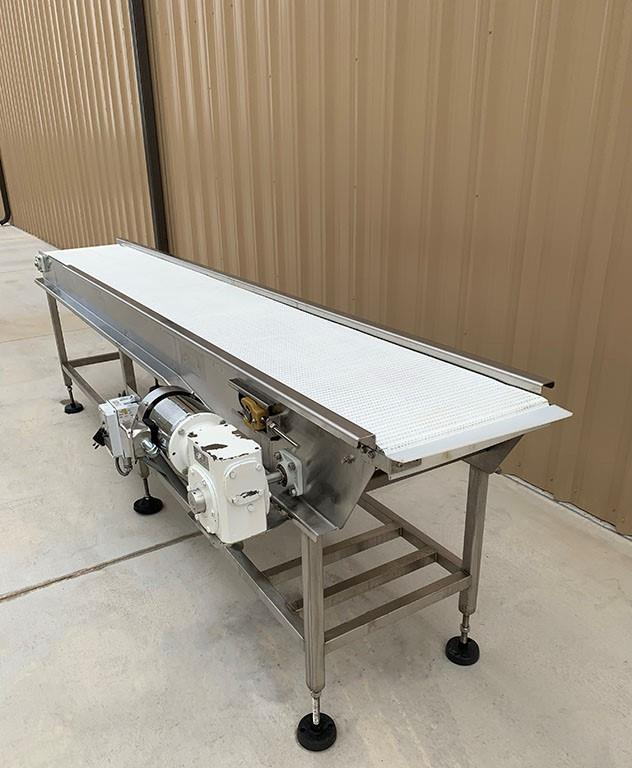 Image 18in X 11ft Long Food Conveyor with Speed Controller 1460854