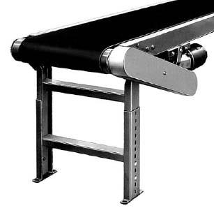 Image Three HYTROL Belt Over Incline Conveyors Sized for #10 Cans - 70in Long 1460902