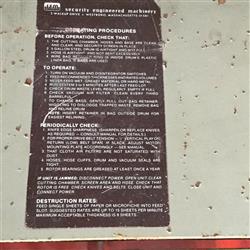 Image SEM 700 Industrial Paper Shredder 1461166