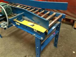 Image IMH / VERSA Motorized Rolling Conveyor with Side Guards - 7ft X 27in 1461205