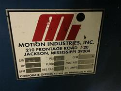 Image MOTION INDUSTRIES Hydraulic Package 1461265