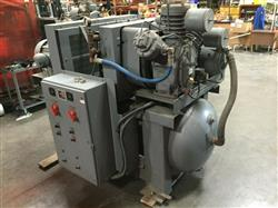 Image INGERSOLL RAND Dual Air Compressor - Type 30 1461302