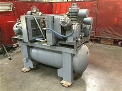 Image INGERSOLL RAND Dual Air Compressor - Type 30 1461304