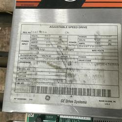 Image 200 HP GE Adjustable Speed Drive 1461378