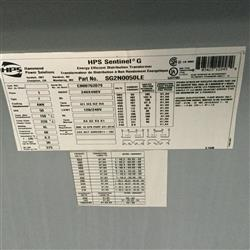 Image HAMMOND HPS Sentinel G Energy Efficient Transformer 1461547