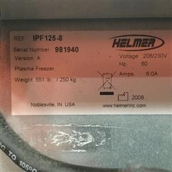 Image HELMER IPF125 Laboratory Plasma Freezer 1461655