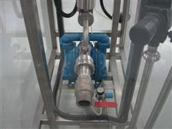 Image Product Skid with SANDPIPER Diaphragm Pump and x4 Definox Valves 1461983