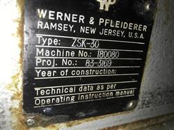 Image WERNER & PFLEIDERER COPERION Co- Rotating Twin Screwn Pelletizing Line 1462458
