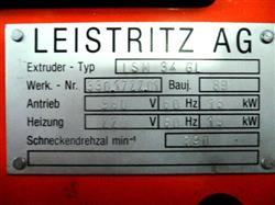 Image LEISTRITZ Twin Screw Extruder 1463935