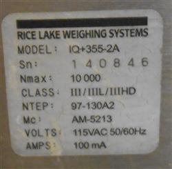 Image RICE LAKE Roughdeck Platform Scale 1464285