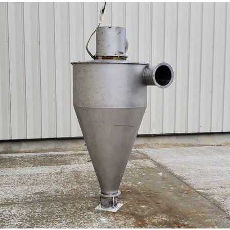 Image 36in Dia. KICE INDUSTRIES, INC. Cyclone Separator - Stainless Steel 1464789