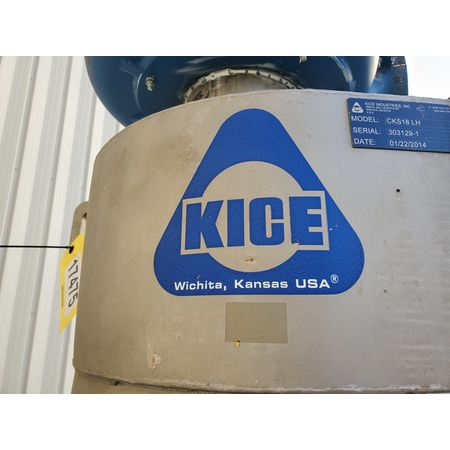 Image KICE Cyclone Separator with Blower - Stainless Steel 1464836