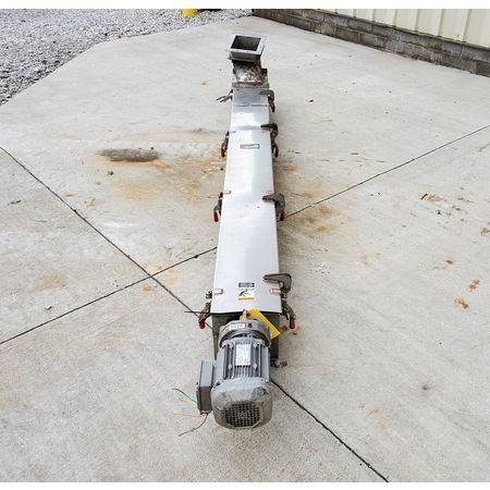 Image CONVEYOR ENGINEERING & MFG Screw Auger Conveyor - 6in Dia. X 10ft, Stainless Steel  1464905