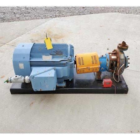 Image 125 HP ITT GOULDS Centrifugal Pump 1464990