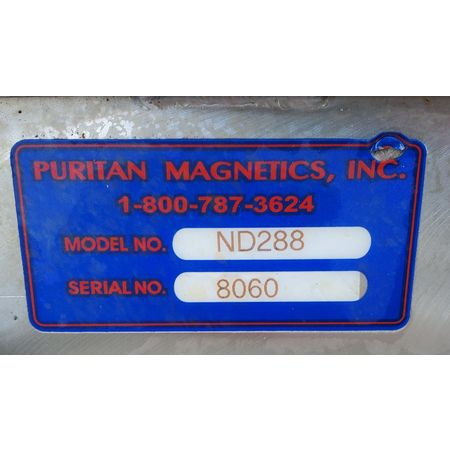 Image PURITAN MAGNETICS ND288 Neo Rare Earth Drawer Magnet - 8in Sq.  1464953