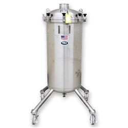 Image 85 Gallon T&C STAINLESS INC. Portable Liquid Tank - 316 Stainless Steel 1465046
