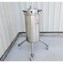 Image 85 Gallon T&C STAINLESS INC. Portable Liquid Tank - 316 Stainless Steel 1465048