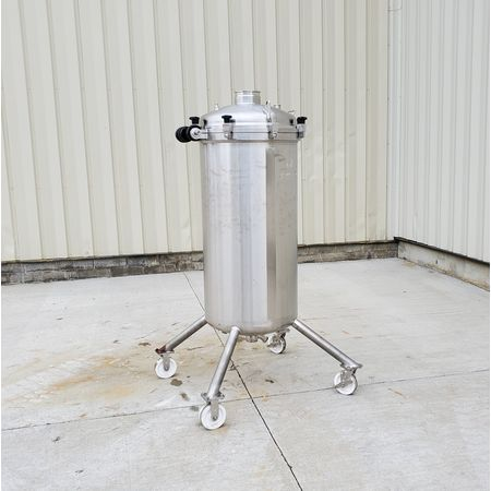 Image 85 Gallon T&C STAINLESS INC. Portable Liquid Tank - 316 Stainless Steel 1465054