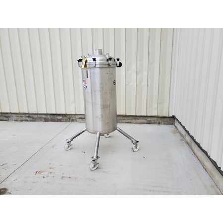 Image 85 Gallon T&C STAINLESS INC. Portable Liquid Tank - 316 Stainless Steel 1465057