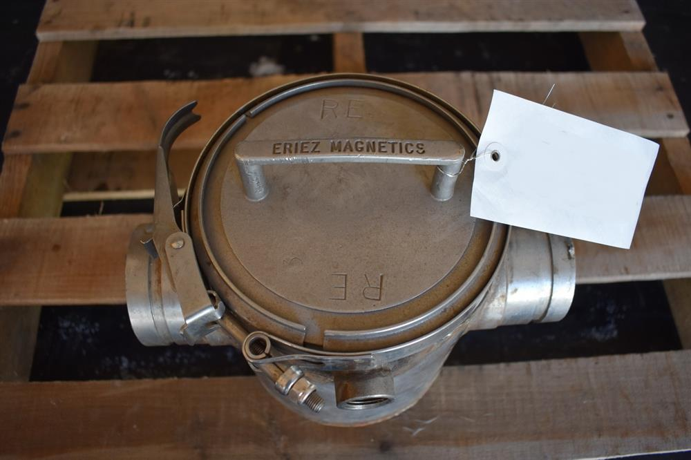 Image 3in ERIEZ MAGNETICS Jacketed Magnet Trap - Stainless Steel 1465178