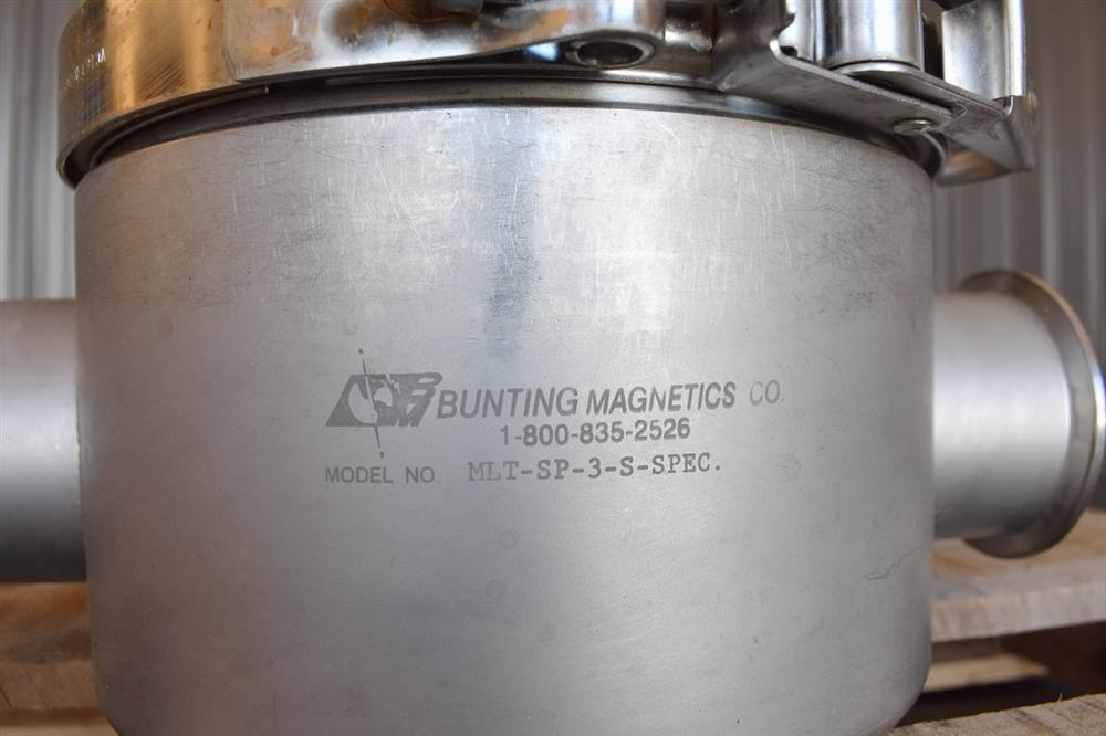 Image 3in BUNTING MAGNETICS Magnetic Liquid Trap - Stainless Steel 1465194