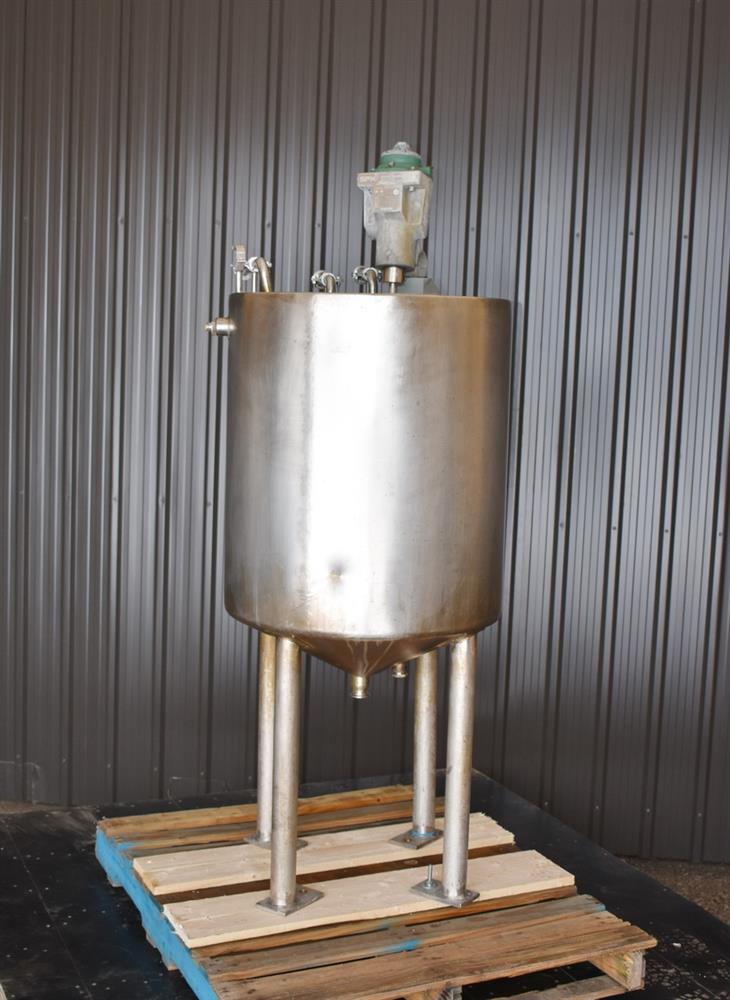 Image 70 Gallon Jacketed Tank with LIGHTNIN SPX X5P25 Mixer 1465250