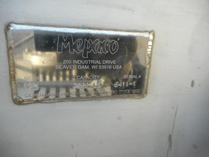 Image MEPACO Conveyor Hopper 1465363