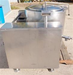 Image 40 Gallon INTEK Steam Jacketed Kettle 1465975
