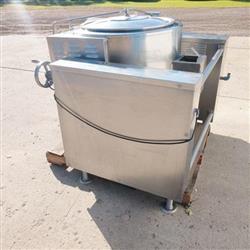 Image 40 Gallon INTEK Steam Jacketed Kettle 1465981