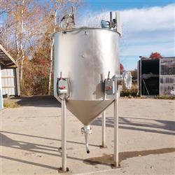 Image 400 Gallon METAL CRAFT Tank - Stainless Steel 1466006