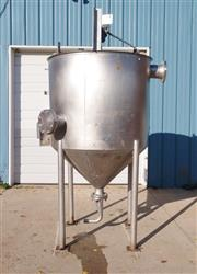 Image 400 Gallon METAL CRAFT Tank - Stainless Steel 1466007