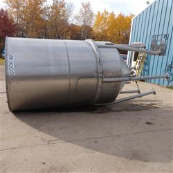 Image 1500 Gallon Cone Bottom Tank - Stainless Steel 1466045