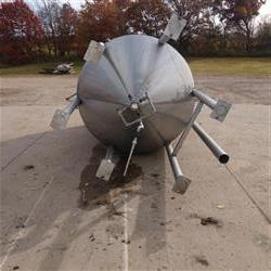 Image 1500 Gallon Cone Bottom Tank - Stainless Steel 1466048