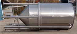 Image 1500 Gallon Cone Bottom Tank - Stainless Steel 1466049