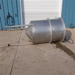 Image 250 Gallon Single Wall Tank - Stainless Steel 1466052