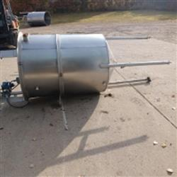 Image 250 Gallon Single Wall Tank - Stainless Steel 1466053