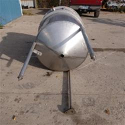 Image 250 Gallon Single Wall Tank - Stainless Steel 1466055