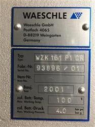 Image 6in COPERION WAESCHLE 2 Way Pneumatic Conveying Diverter Valve - Model WZK 161 P1 CR, Unused 1466330