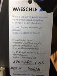 Image 6in COPERION WAESCHLE 2 Way Pneumatic Conveying Diverter Valve - Model WZK 161 P1 CR, Unused 1466331