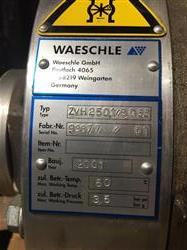 Image 8in WAESCHLE Rotary Airlock Valve - Model ZVH250.1, All Stainless Steel 1466361