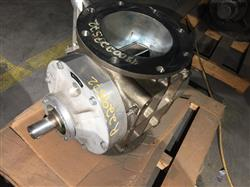 Image 8in WAESCHLE Rotary Airlock Valve - Model ZVH250.1, All Stainless Steel 1466364