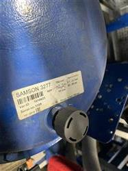 Image 2in SAMSON CONTROLS Control Valve with Extended Stem, Positioner and Actuator 1466736