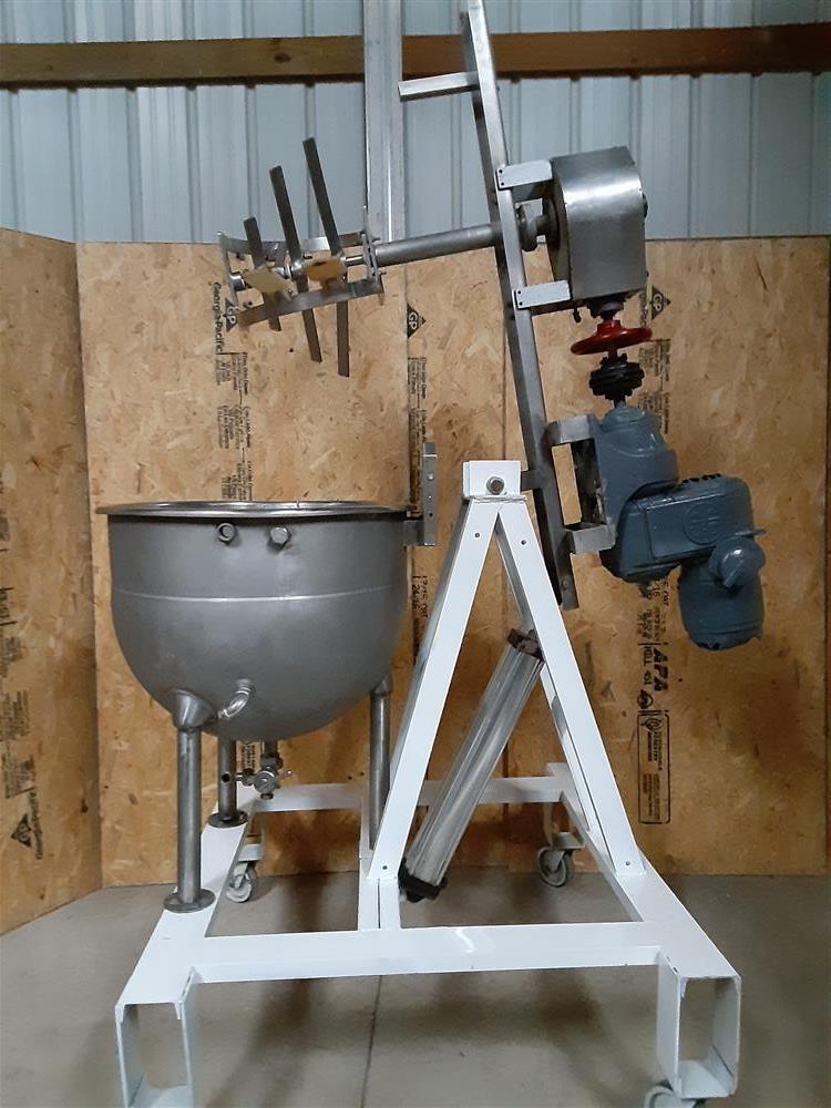 Image 60 Gallon HAMILTON Double Motion Kettle - Stainless Steel 1466886