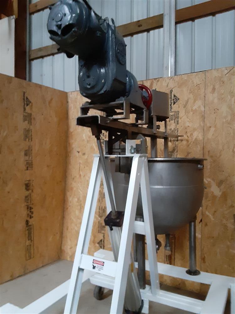 Image 60 Gallon HAMILTON Double Motion Kettle - Stainless Steel 1466887