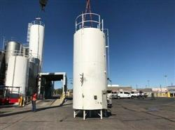 Image 5000 Gallon CHERRY BURRELL Jacketed Stainless Steel Silo with Side Mixer 1467569