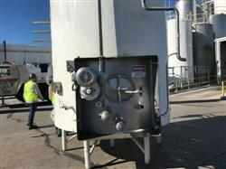 Image 5000 Gallon CHERRY BURRELL Jacketed Stainless Steel Silo with Side Mixer 1467570